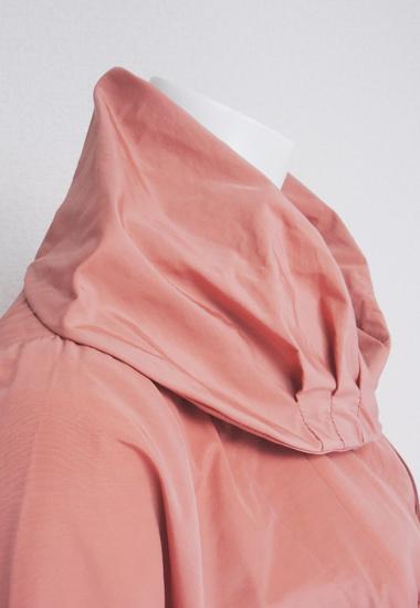 ボリュームのある衿