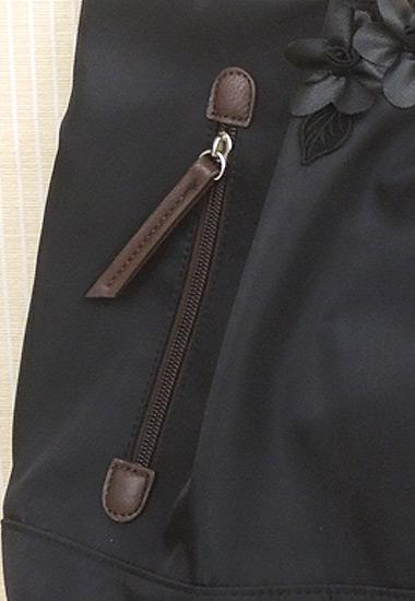 ジッパー付きポケット