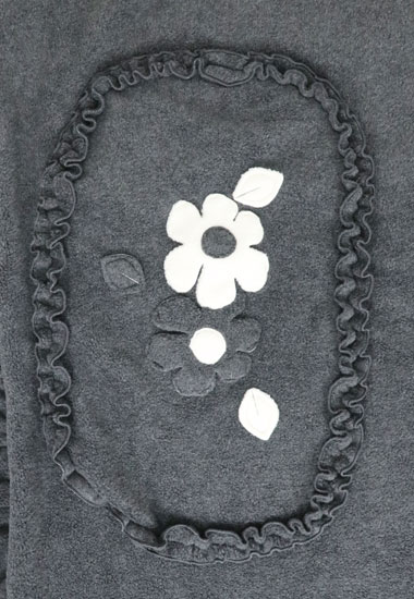 お花、フリルライン