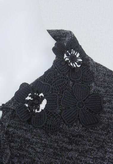 衿のお花飾り